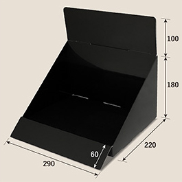 汎用カウンター什器(ブラック)