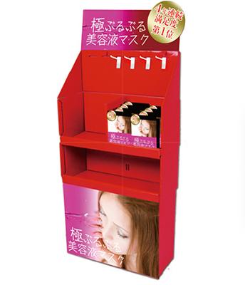 棚型家具タイプのフロア什器